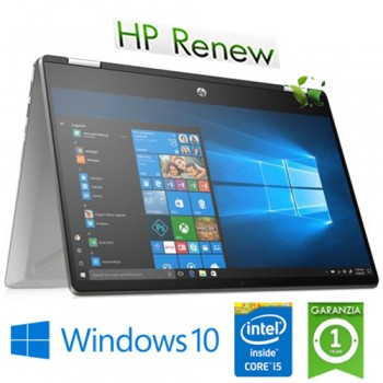 Notebook HP Pavilion x360 14-dh0013nl i5-8265U 1.6GHz 8Gb 512Gb SSD 14' Nvidia GeForce MX130 2GB Win 10 HOME