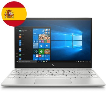 Notebook HP ENVY 13-ah0004ns Core i7-8550U 1.8 GHz 8Gb 512Gb SSD 13.3' FHD LED Win 10 HOME [LINGUA SPAGNOLA]