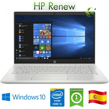 Notebook HP Pav 14-ce3003ns i5-1035G1 8Gb 512Gb SSD 14' Nvidia GeForce MX130 2GB Win 10 HOME [LINGUA SPAGNOLA]