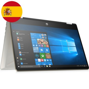 Notebook HP Convertibile x360 14-dh1007ns i5-10210U 1.6 GHz 8Gb 512Gb 14'  Windows 10 HOME [LINGUA SPAGNOLA]