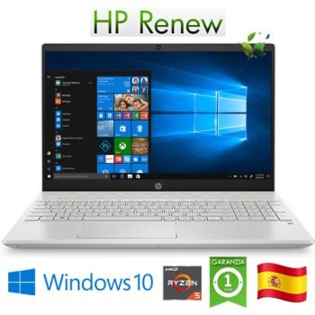Notebook HP Pavilion 15-cw1000ns RYZEN5-3500U 8Gb 512Gb SSD 15.6'  Windows 10 HOME [LINGUA SPAGNOLA]