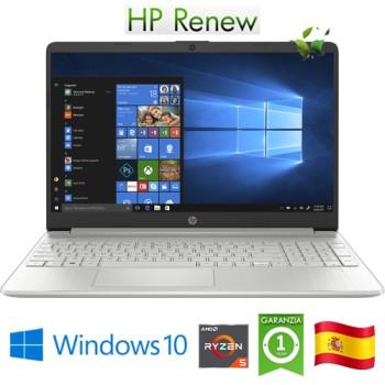 Notebook HP 15s-eq0019ns RYZEN5-3500U 2.1GHz 8Gb 256Gb 15.6' FHD LED Windows 10 HOME [LINGUA SPAGNOLA]