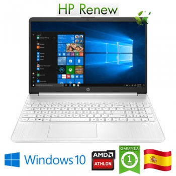 Notebook HP 15s-eq1023ns AMD Ath3050U 2.3GHz 8Gb 256Gb 15.6' HD LED Windows 10 HOME [LINGUA SPAGNOLA]