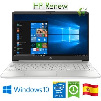 Notebook HP 15s-fq1114ns i3-1005G1 1.2GHz 8Gb 256Gb SSD 15.6' HD LED Windows 10 HOME [LINGUA SPAGNOLA]