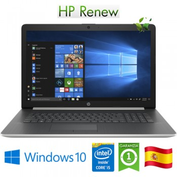 Notebook HP 17-by2003ns i5-10210U 8Gb 512Gb DVD-RW 17.3' AMD Radeon 530 2GB Win 10 HOME [LINGUA SPAGNOLA]