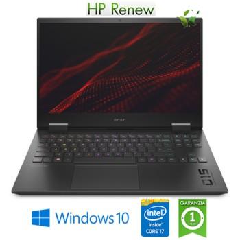 Notebook HP Omen 15-ek0018nl i7-10750H 2.6 GHz 16Gb 512Gb 15.6' NVIDIA GeForce GTX 1660Ti 6GB Windows 10 HOME