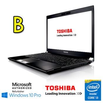 Notebook Toshiba Portege R830 Core i3-2330M 2.2GHz 8Gb 320Gb 13.3' DVD-RW  Windows 10 Professional [Grade B]