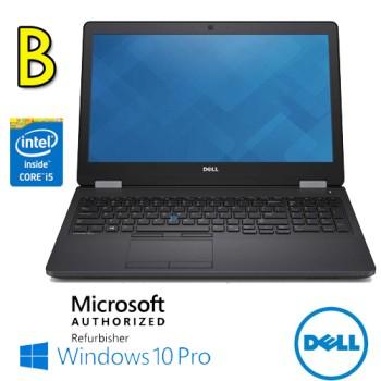 Notebook Dell Latitude E5580 Core i5-6300U 2.3GHz 8Gb Ram 256Gb SSD 15.6' Windows 10 Professional [Grade B]