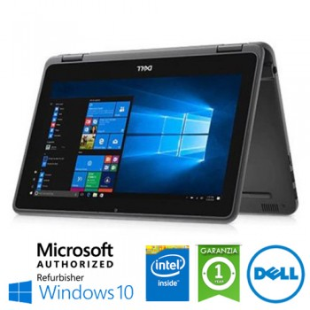 Notebook Dell Latitude 3190 Intel Pentium N5030 1.1GHz 4Gb 128Gb SSD 11.6' HD TS Windows 10 HOME