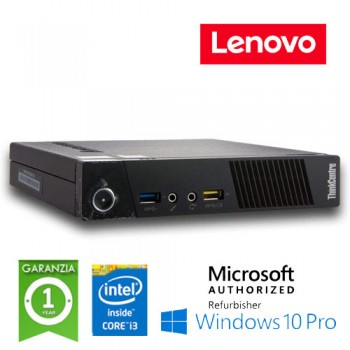 PC Lenovo ThinkCentre M83 Tiny Core i3-4160T 3.1GHz 8Gb 128Gb SSD Windows 10 Professional
