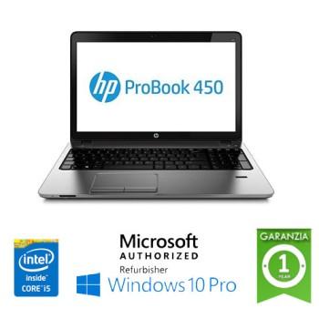 Notebook HP ProBook 450 G3 Core i5-6200U 2.3GHz 8Gb 256Gb 15.6' HD DVD-RW Windows 10 Professional