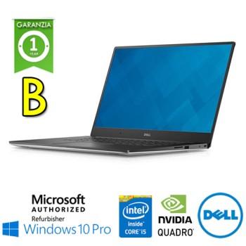 Mobile Workstation Dell Precision 5520 Core i5-7300HQ 2.5GHz 16Gb 512Gb 15.6' Quadro M1200 Win 10 Pro[Grade B]