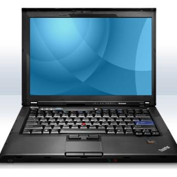 Portatile IBM Lenovo T400 Core 2 Duo P8600 2.4GHz 4Gb Ram 160Gb 14.1' XWGA DVDRW [Senza Sistema Operativo]