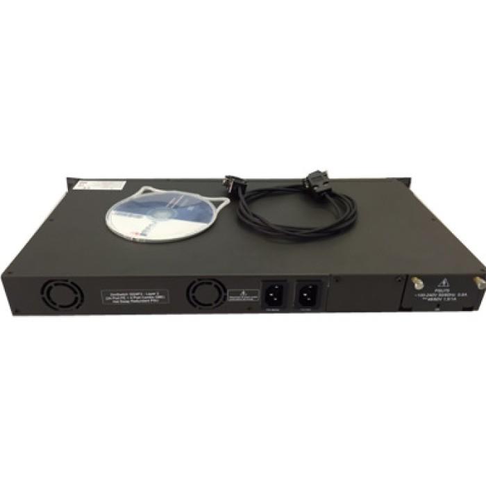 Switch IERU DM SWITCH 3000 24 Porte Fast Ethernet e 4 Combo Gigabit  2 Alimentatori NUOVO