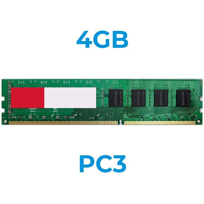 UPGRADE da 4Gb a 8Gb 24PIN DDR3 1333 DIMM x PC (Ordinabile solo con nostri PC)