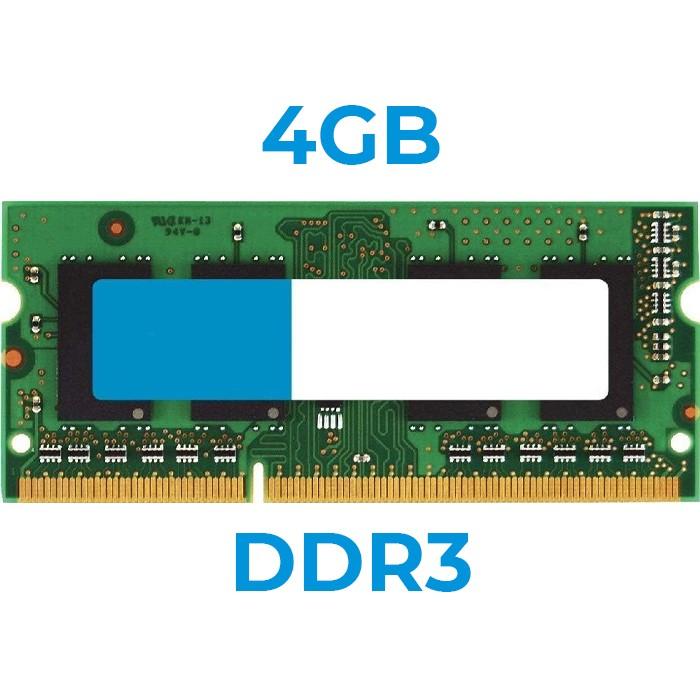 UPGRADE da 4Gb a 8Gb Sodimm DDR3 x PORTATILI (Ordinabile solo con nostri Notebook)