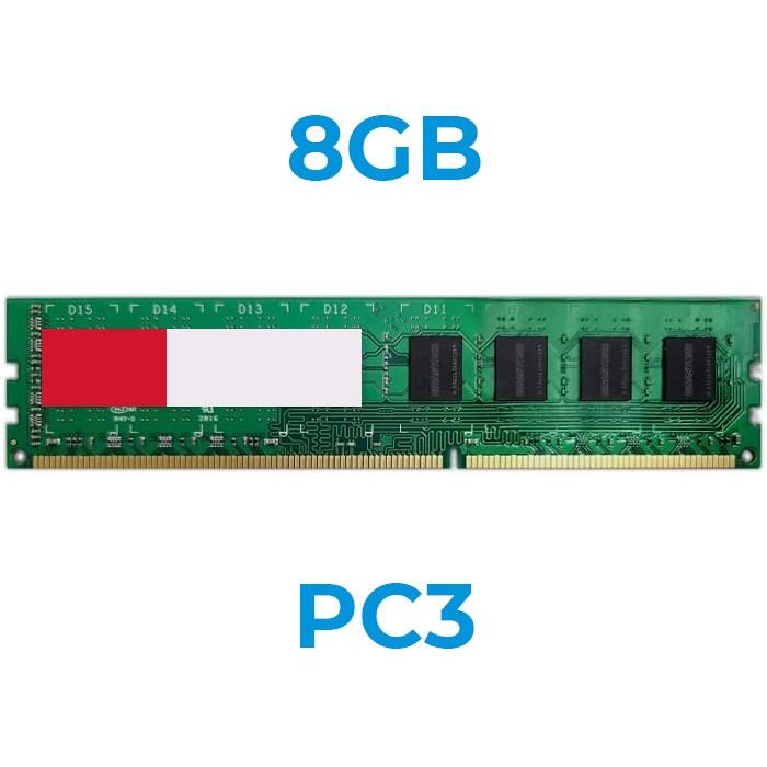 UPGRADE da 8Gb a 16Gb 240 pin PC3-12800 DDR3 1600 DIMM x PC (Ordinabile solo con nostri PC)
