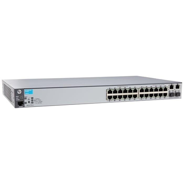 Switch 24 Porte HP ProCurve 2620-24 Managed network switch L2 Fast Ethernet (10/100) 1U Grigio J9623A