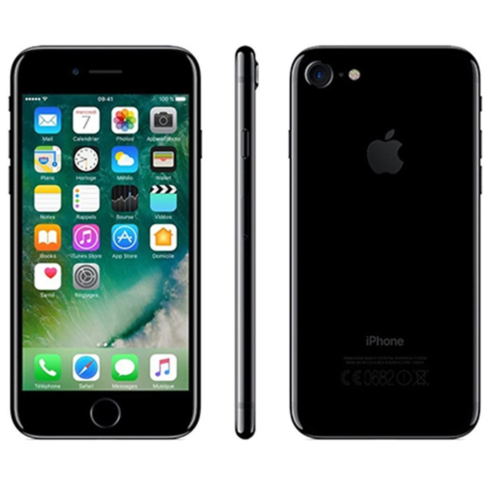 Apple iPhone 7 128Gb Jet Black A10 MN962ZD/A 4.7' Nero Lucido