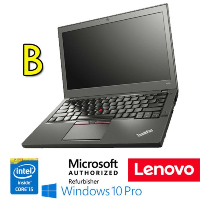 Notebook Lenovo Thinkpad X250 Core  i5-5300U 8Gb 180Gb SSD 12.5' WEBCAM Windows 10 Professional [Grade B]