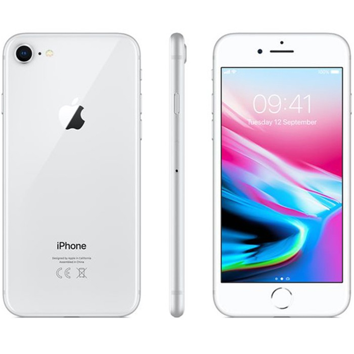 Apple iPhone 8 64Gb Silver MQ6H2ZD/A 4.7' Argento