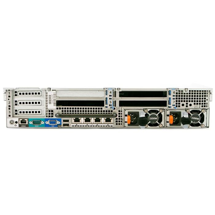 Server Dell PowerEdge R720 (2) Xeon Deca Core E5-2650L V2 1.7Ghz 25Mb Cache 48Gb Ram 4Tb Perc H710mini (2) PSU