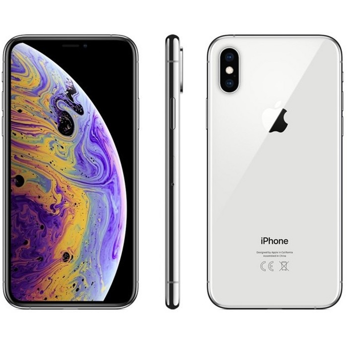 Apple iPhone XS 64Gb Silver A12 MTAX2J/A 5.8' Argento Originale