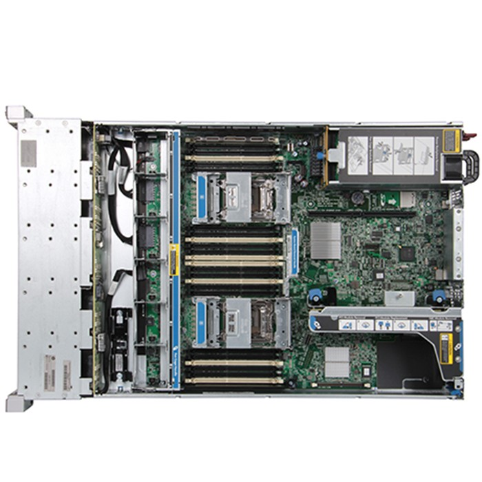 Server HPE ProLiant DL380 G9 (2)Xeon Hexa Core E5-2603V3 1.6GHz 128Gb Ram 2x146GB SAS 2PSU Smart Array P440ar