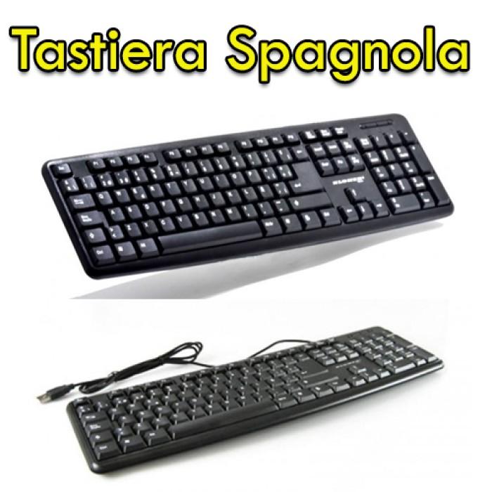 Kit Tastiera e Mouse USB SPAGNOLO