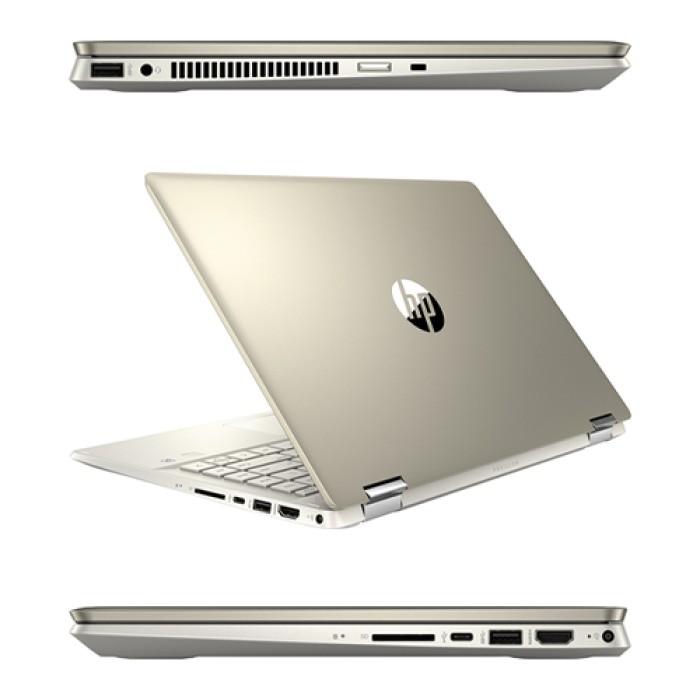Notebook HP Convertibile x360 14-dh1007ns i5-10210U 1.6 GHz 8Gb 512Gb 14'  Windows 10 HOME [LINGUA SPAGNOLA]