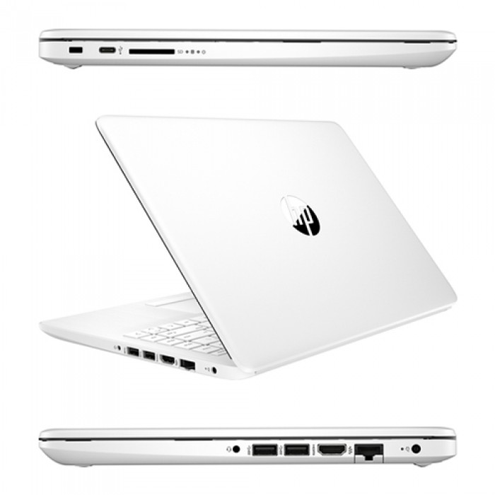 Notebook HP 14-dk0009ns RYZEN5-3500U 2.1GHz 8Gb 512Gb SSD 14' HD LED Windows 10 HOME [LINGUA SPAGNOLA]