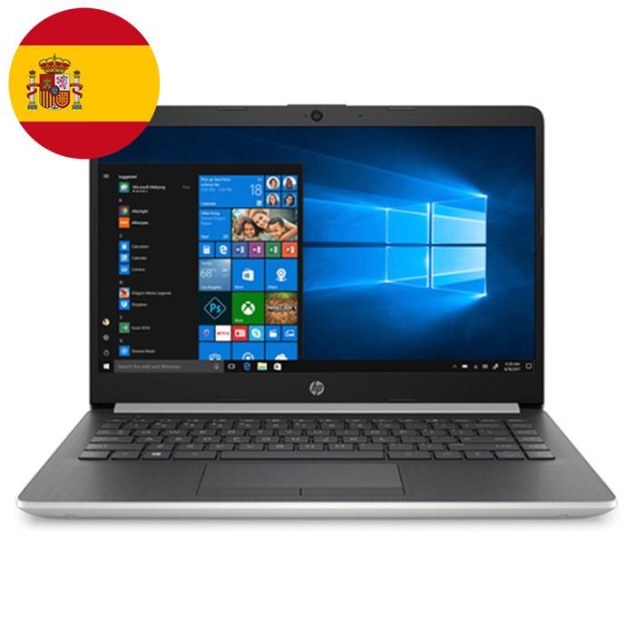 Notebook HP 14-dk0011ns RYZEN 5-3500U 2.1GHz 8Gb 512Gb SSD 14' HD LED Windows 10 HOME [LINGUA SPAGNOLA]