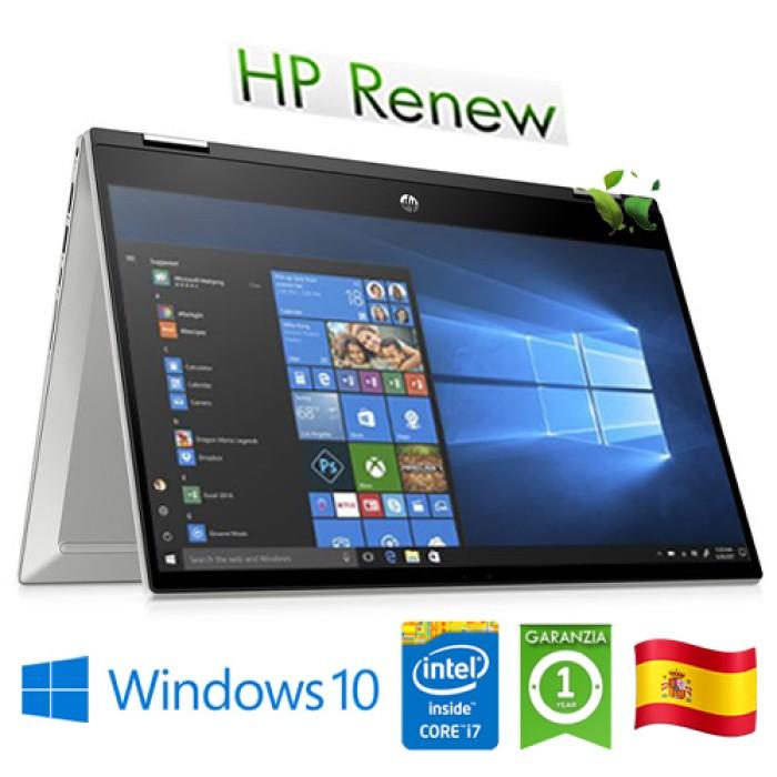 Notebook HP Pavilion x360 14-dw0011ns i7-1065G7 16Gb 1Tb SSD 14' FHD LED Windows 10 HOME [LINGUA SPAGNOLA]
