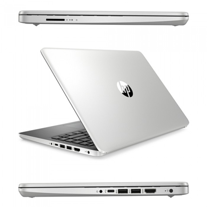 Notebook HP 14s-dq1003ns i3-1005G1 1.2GHz 8Gb 256Gb SSD 14' FHD LED Windows 10 HOME [LINGUA SPAGNOLA]