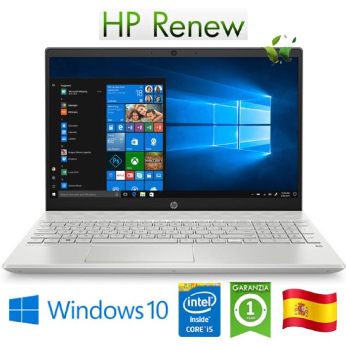 Notebook HP Pav. 15-cs3019ns i5-1035G1 16Gb 1Tb SSD 15.6' GeForce GTX1050 3GB Win 10 HOME [LINGUA SPAGNOLA]