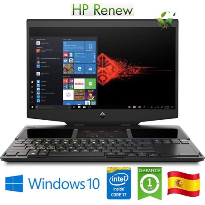 Notebook HP Omen X 15-dg0004ns i7-9750H 32Gb 1Tb SSD 15.6' GeForce RTX 2070 8GB Win 10 HOME [LINGUA SPAGNOLA]