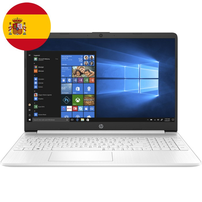Notebook HP 15s-fq1082ns i7-1065G7 1.3GHz 12Gb 1Tb SSD 15.6' FHD LED Windows 10 HOME [LINGUA SPAGNOLA]