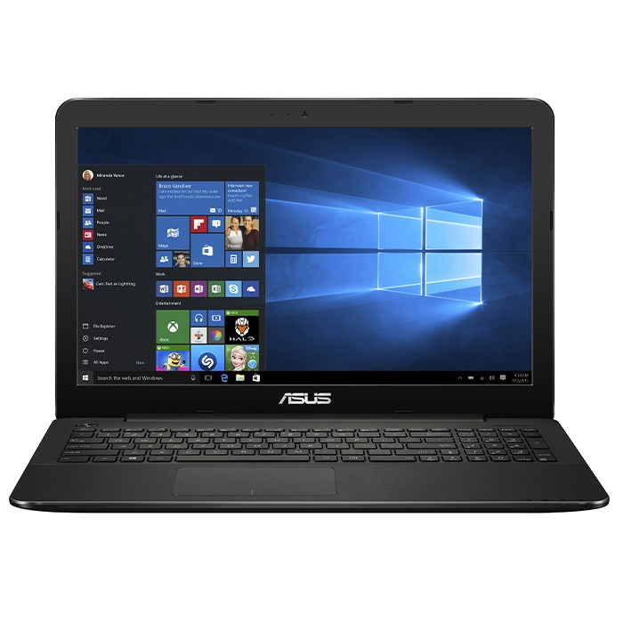 Notebook Asus F554L Core i3-4005U 1.7GHz 4Gb 500Gb DVD-RW 15.6' Windows 10 Home