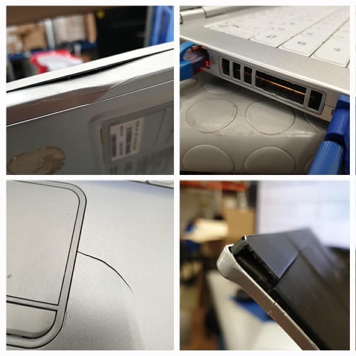 Notebook Panasonic Toughbook CF-LX3 Core i5-4310U 2.0GHz 4Gb 128Gb SSD 14' Windows 10 Professional [Grade C+]