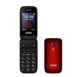 CELLULARE GSM QUAD BAND TASTI E CARATTERI GRANDI AUDIO AMPLIFICATO ROSSO - SCUDOTRE