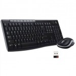 KIT TASTIERA E MOUSE WIRELESS MK270 NERA USB