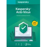 KASPERSKY ANTIVIRUS 1 UTENTE 1 ANNO