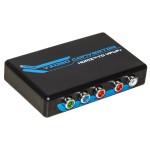 ADATTATORE HDMI DIGITALE A COMPONENT RGB + R/L ANALOGICO