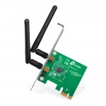SCHEDA PCI-EXPRESS 300 MBPS WIRELESS CON 2 ANTENNE STACCABILI