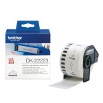 BROTHER DK22223 NASTRO ADES IN CARTA NERO BIANCO 50MM - 30.48 MET