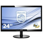 PHILIPS 246V5LHAB/00 24 LED WIDE 1920X1080 5MS HDMI VGA MULTIM