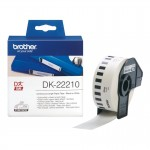 BROTHER DK22210 NASTRO ADES NERO BIANCO 29 MM