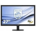 PHILIPS 273V5LHSB/00 27 LCD LED 16 9 1920X1080 300CD M2 5MS HDMI VGA