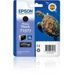EPSON C13T15714010 CARTUCCIA  K3 T1571 TARTARUGA NERO PHOTO