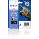 EPSON C13T15764010 CARTUCCIA K3 T1576 TARTARUGA VIVID MAGENTA